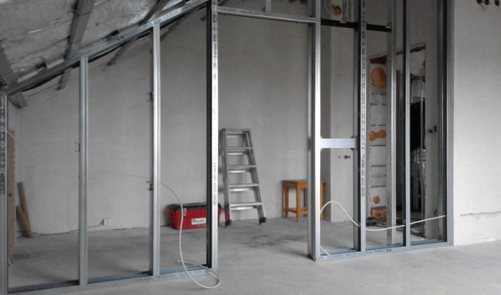 innenausbau trockenbau. Black Bedroom Furniture Sets. Home Design Ideas